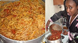'You Can't Cook' – Angry Fans Tell Ini Edo After Posting Kitchen Pictures (LOOK)